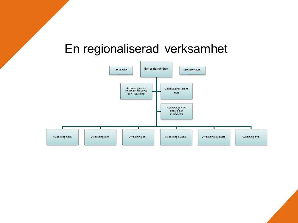 En regionaliserad verksamhet