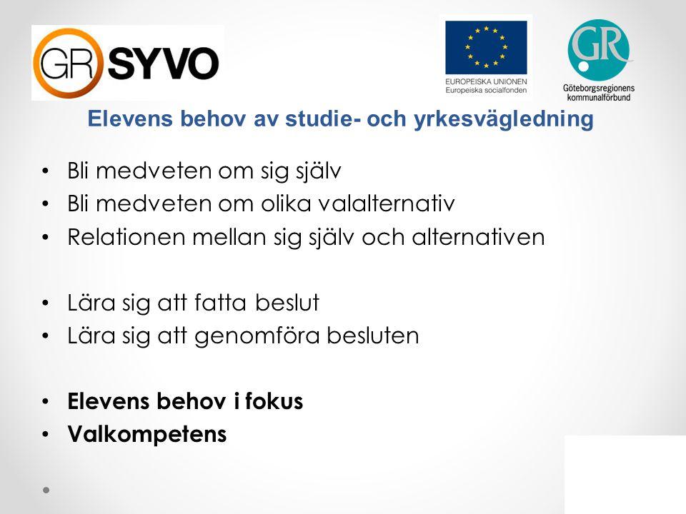 Allmänna råd om arbete med studie- och yrkesvägledning Innehåll 1.Att styra och leda arbetet med studie- och yrkesvägledning (Huvudman/Rektor) 2.