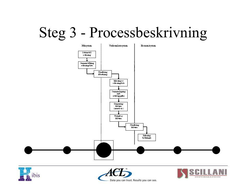 Steg 3 - Processbeskrivning