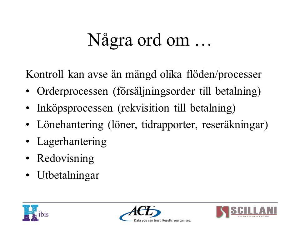 Scillani Information AB Ekgatan 6 230 40 BARA Tfn 040 – 54 31 31 Fax 040 – 54 31 30 Internet: www.scillani.com E-post: info@scillani.se www.hibis.com finding the loopholes
