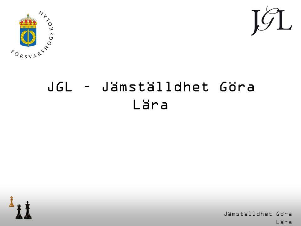 Jämställdhet Göra Lära JGL – Jämställdhet Göra Lära