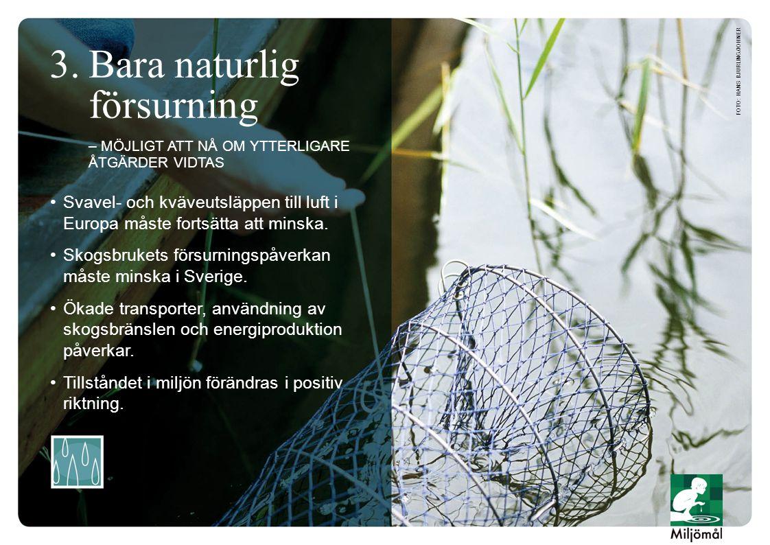 •Svavel- och kväveutsläppen till luft i Europa måste fortsätta att minska.