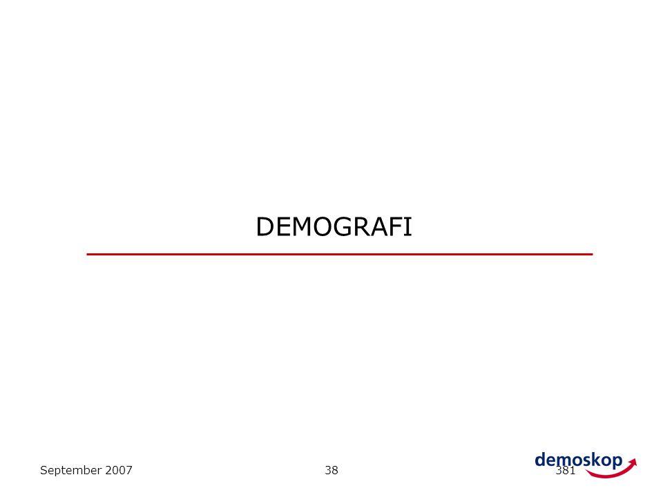 September 200738381 DEMOGRAFI