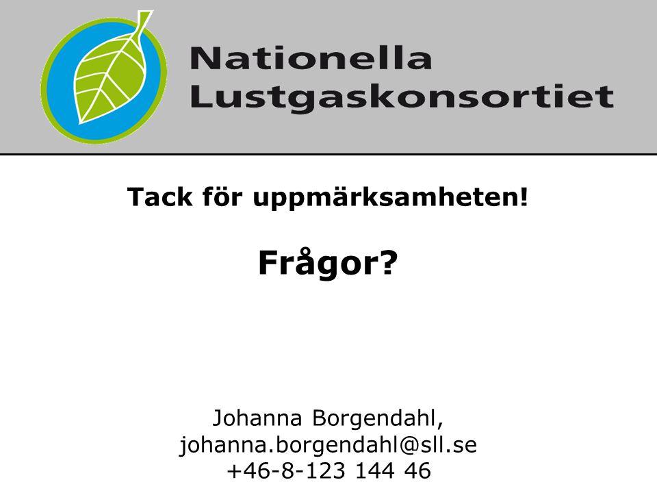 2014-06-21 7 Tack för uppmärksamheten! Frågor? Johanna Borgendahl, johanna.borgendahl@sll.se +46-8-123 144 46