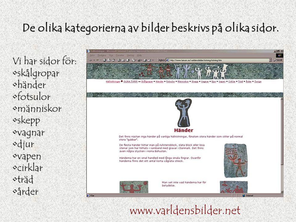 Tanums olika hällristningslokaler beskrivs utförligt. Denna sida handlar om Aspeberget och visar en del av dess bilder. www.varldensbilder.net