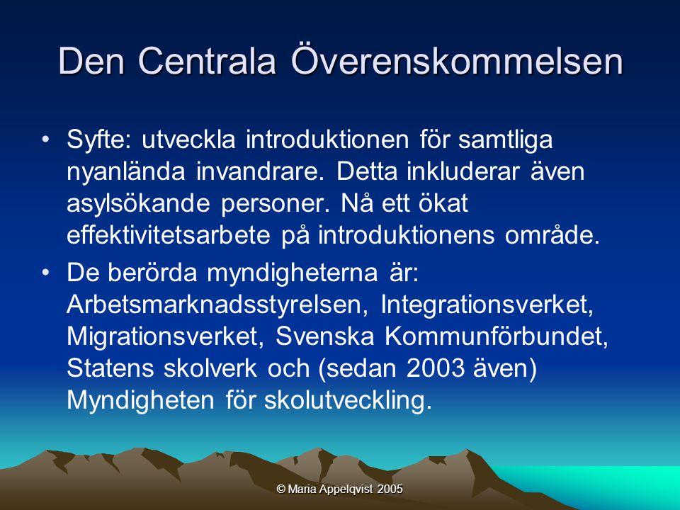 © Maria Appelqvist 2005 Vad handlar det om.