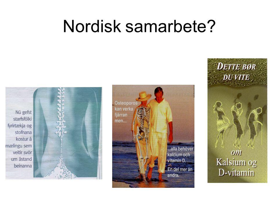 Nordisk samarbete?