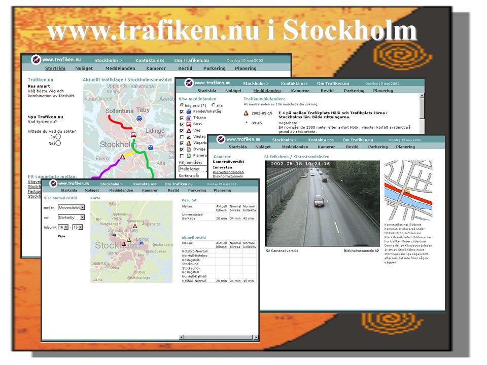 www.trafiken.nu i Stockholm