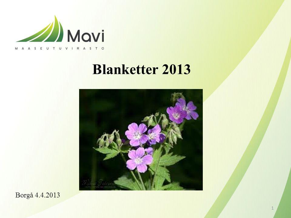 Blanketter 2013 Borgå 4.4.2013 1