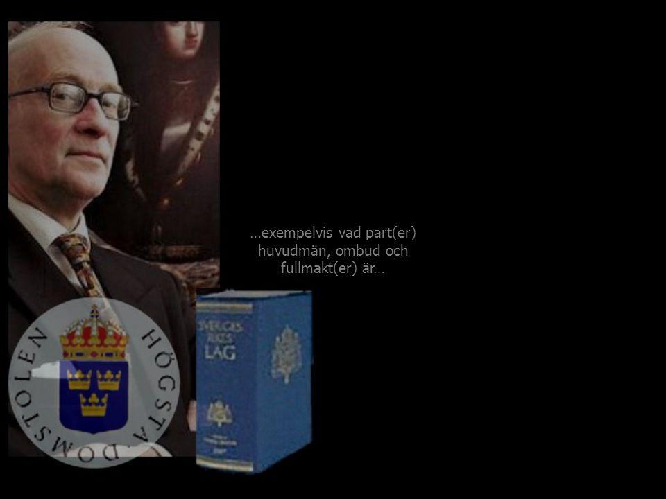 En minst sagt upphöjd konstellation som(om någon) kan Sveriges Rikes Lag…
