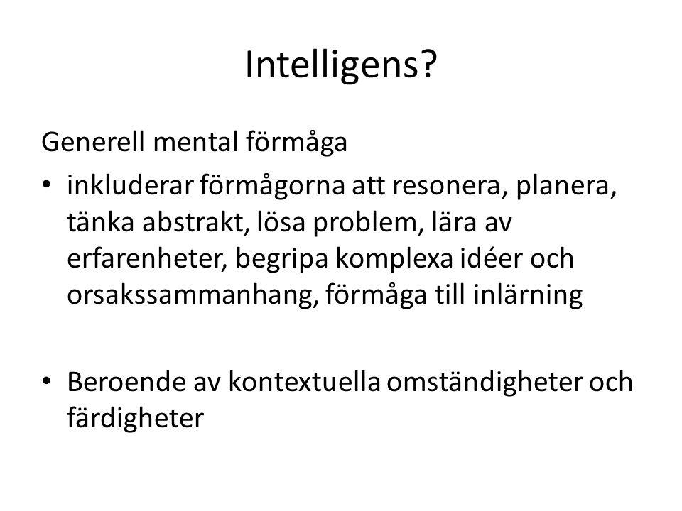 Intelligens.