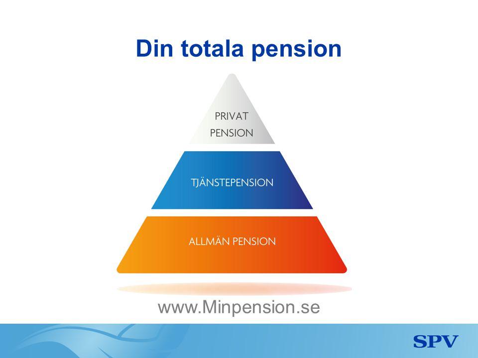 Du får ett pensionsbesked från SPV