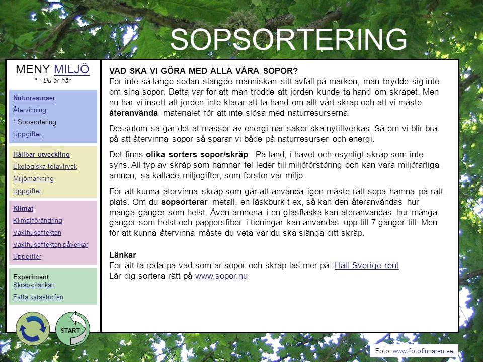 START Foto: www.fotoakuten.sewww.fotoakuten.se START MATENS VÄG GENOM KROPPEN 1.