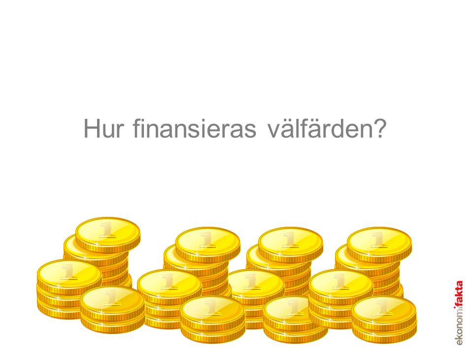 Hur finansieras välfärden?