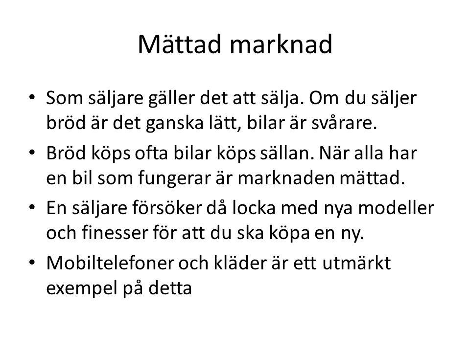 Konkurrens • I Sverige har vi oftast fri konkurrens.