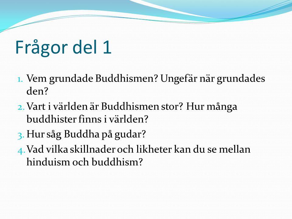 Att leva som buddhist  Det är vanligt att pojkar bor i kloster under en tid.