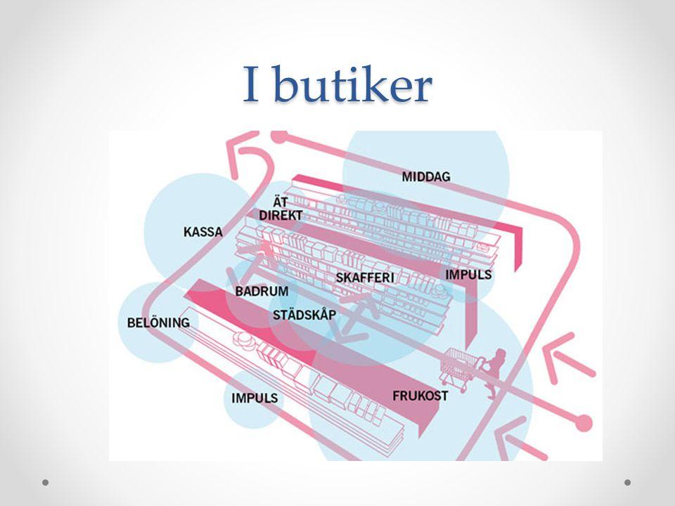 I butiker