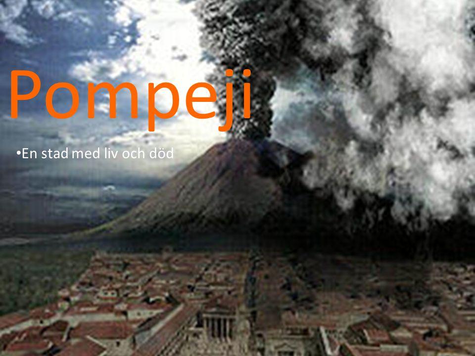 Pompeji • En stad med liv och död