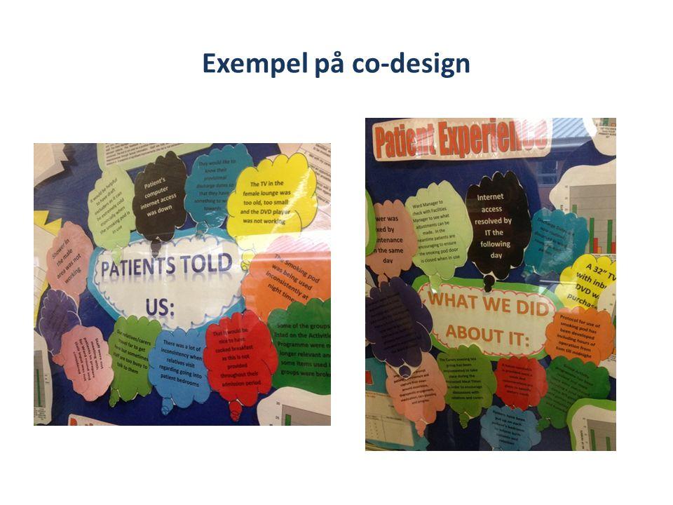 Exempel på co-design