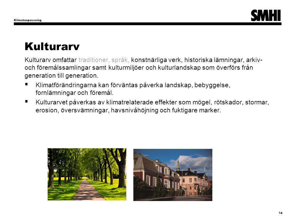 Kulturarv Kulturarv omfattar traditioner, språk, konstnärliga verk, historiska lämningar, arkiv- och föremålssamlingar samt kulturmiljöer och kulturlandskap som överförs från generation till generation.