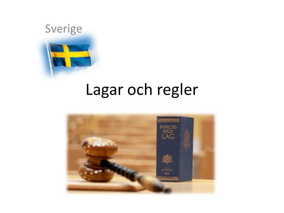 Lagar och regler Sverige