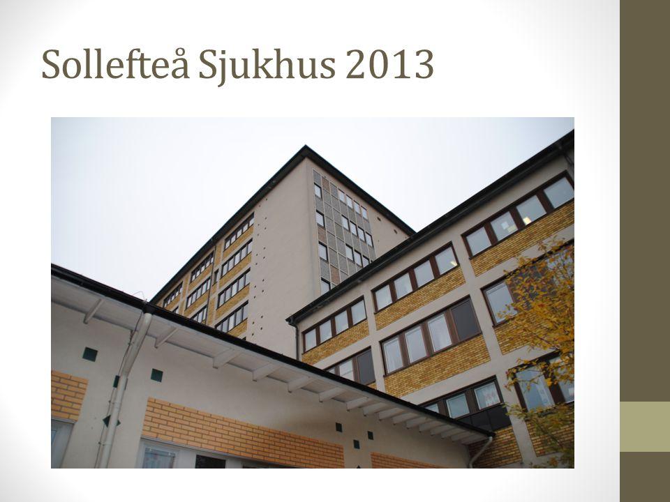 Är Sollefteå sjukhus på väg att förändras, försvinna inom kort.