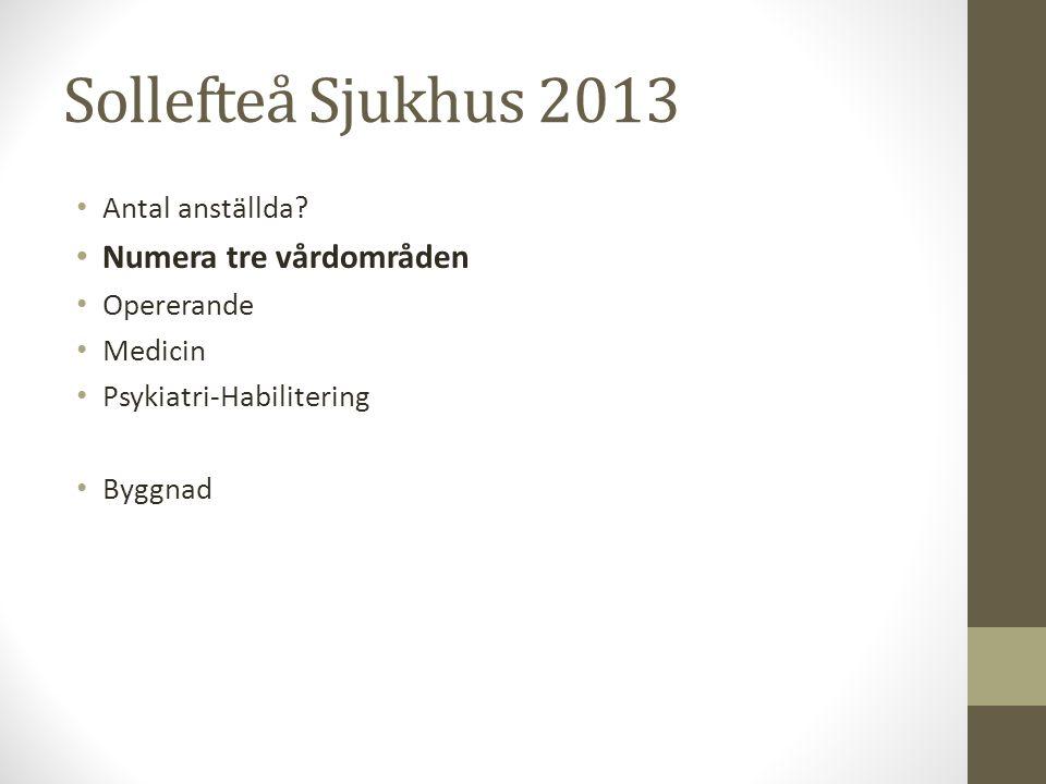 I dagsläget är Sollefteå ett akutsjukhus – men hur ser det ut i morgon?