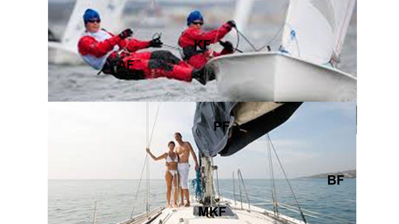 Big 5 och Konsten att segla AF: Samband mellan vind, segelyta och fart.