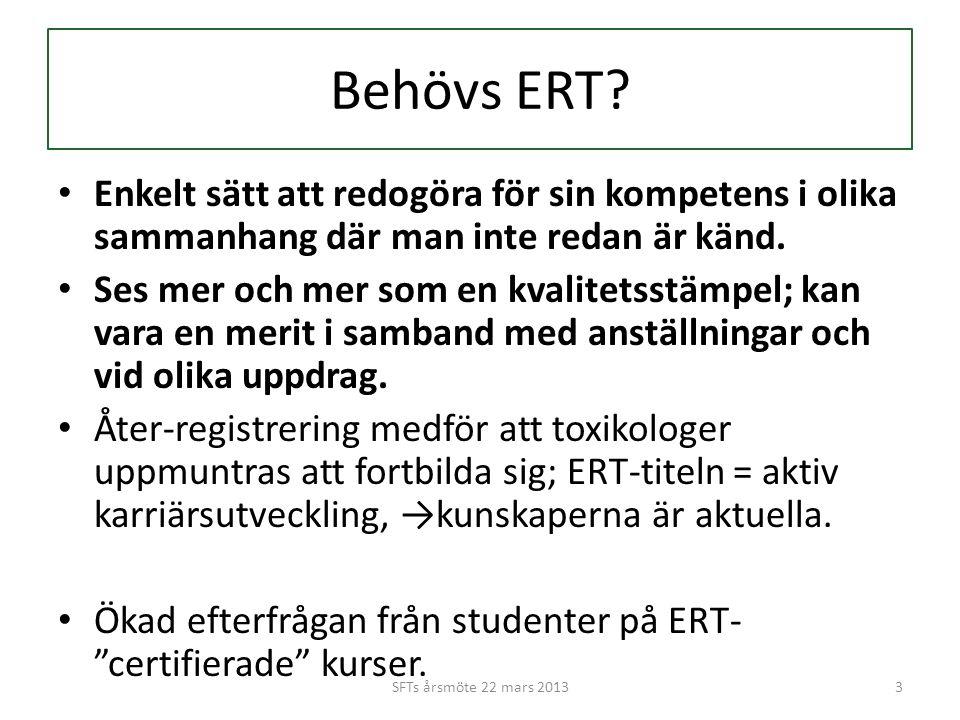 Behövs ERT.