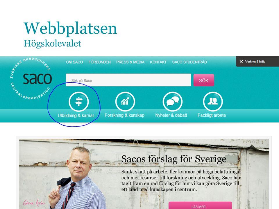 9 www.saco.se/valjayrke