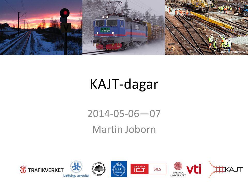 KAJT-dagar 2014-05-06—07 Martin Joborn