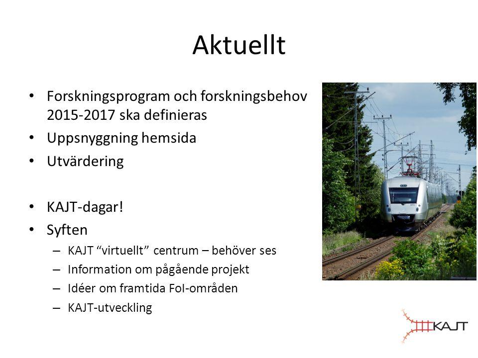 Härnäst • Projektansökningar för 2015 (aug-sept) • Punktlighetsseminarium (okt-dec) • Transportforum (jan 2015)