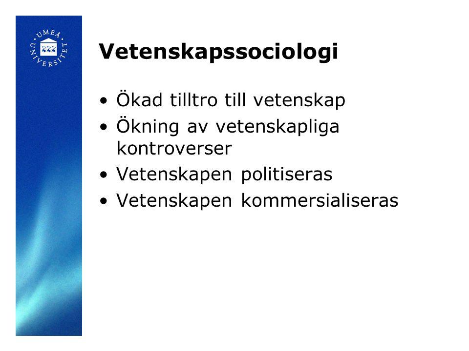 Slutsatser •Den skandinaviska välfärdsstatens lösning på riskhantering –Våldsdåd orsakar införandet av ÖPT –Men: ÖPT laddas med värden som autonomi och vård –Utformningen av ÖPT anpassas till en typiskt skandinavisk välfärdspolitik Hur blir praktiken: Äka delaktighet eller förklädd kontroll?