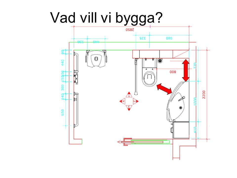 Vad vill vi bygga?
