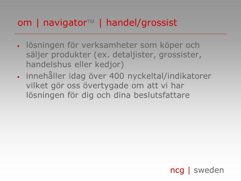 ncg | sweden • lösningen för dig som i ditt dagliga arbete tänker på nyckeltal i form av debiteringsgrad, genomsnittlig pris per timme, beläggningsgrad etc.