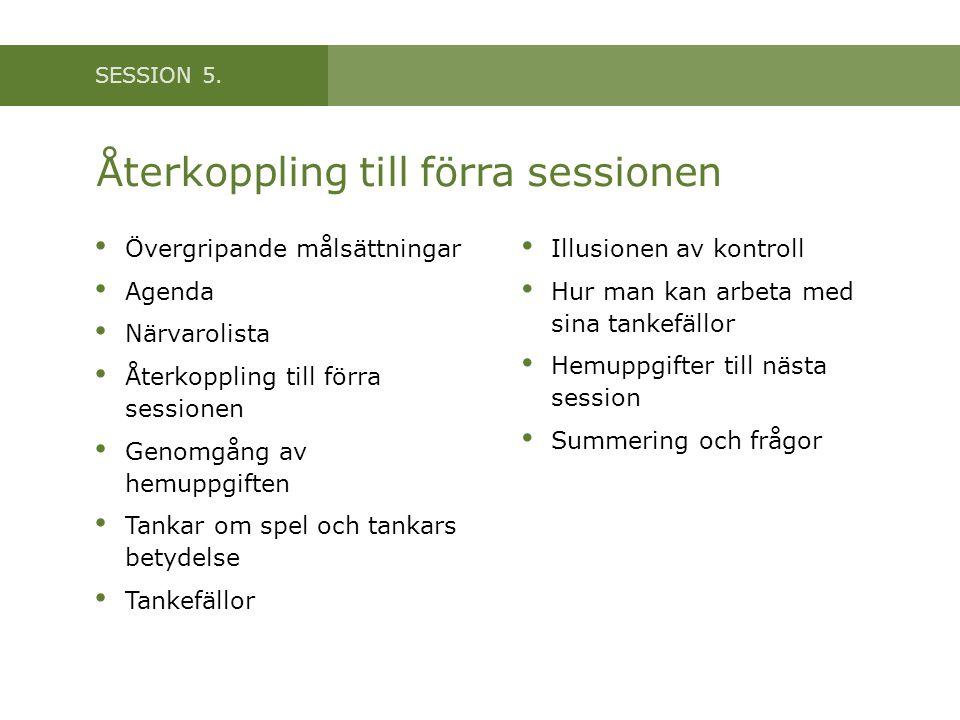 SESSION 5.