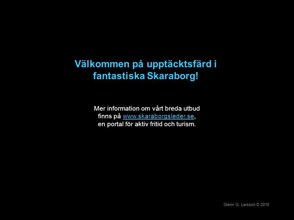 Välkommen på upptäcktsfärd i fantastiska Skaraborg! Mer information om vårt breda utbud finns på www.skaraborgsleder.se, en portal för aktiv fritid oc