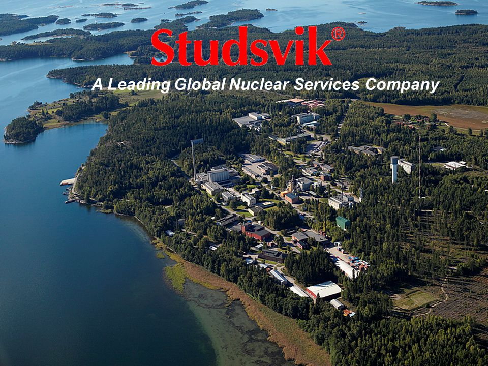 25 A Leading Global Nuclear Services Company