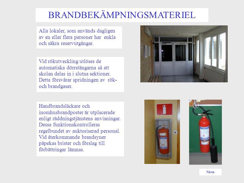 LARMA RÄDDNINGSTJÄNSTEN LARMA  Ring 112.Begär sedan hjälp eller Tryck in närmaste manuella larm.