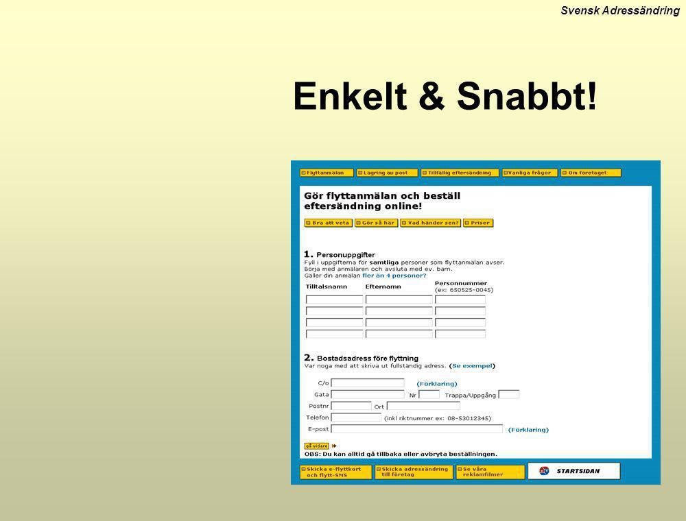 Svensk Adressändring Enkelt & Snabbt!