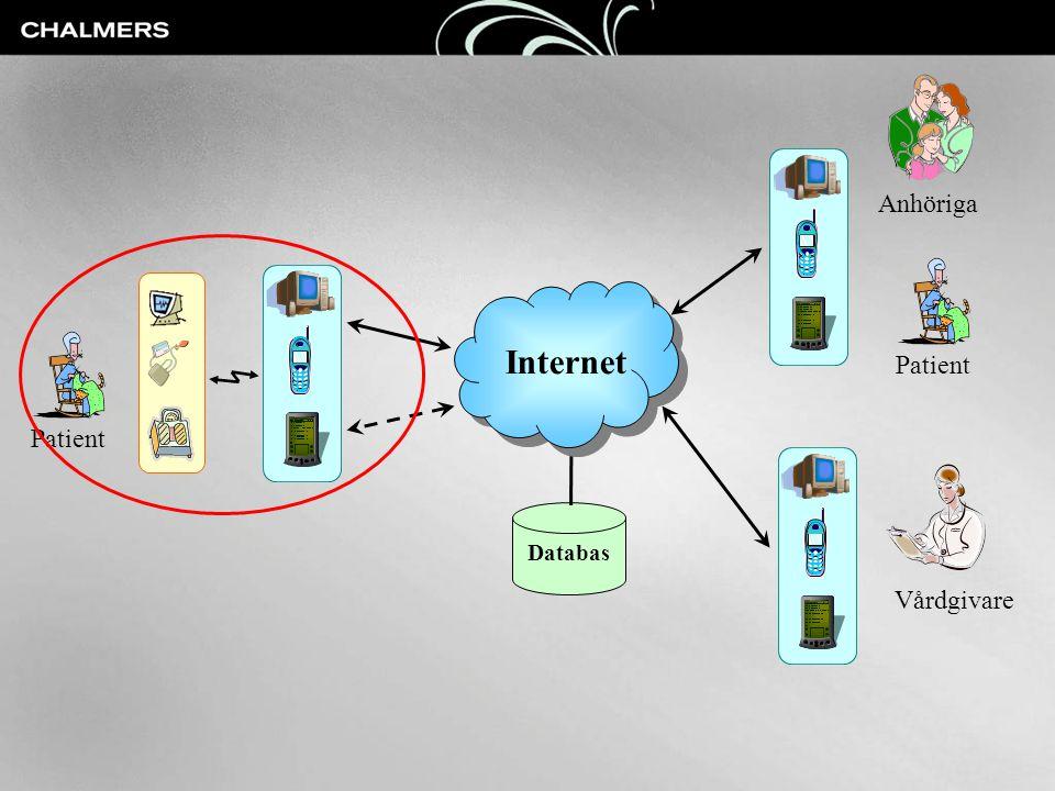 Databas Internet Vårdgivare Patient Anhöriga Patient