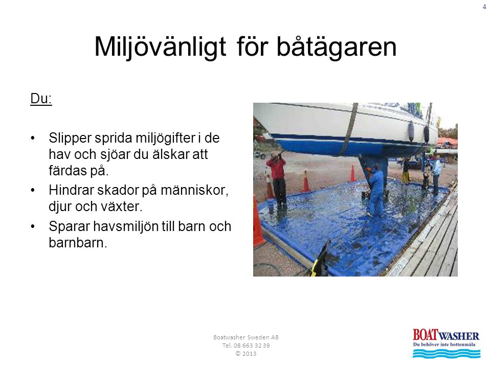 5 Boatwasher Sweden AB Tel.