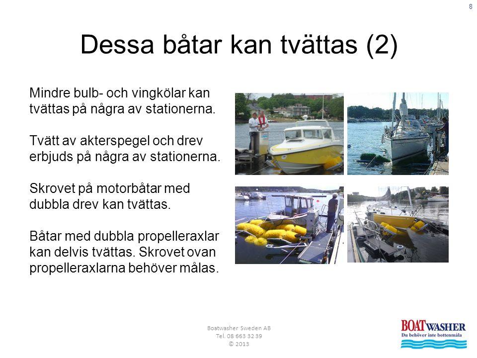 8 Boatwasher Sweden AB Tel.