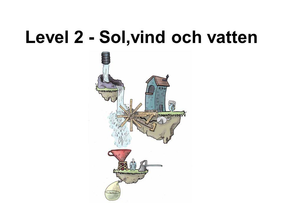 Level 2 - Sol,vind och vatten