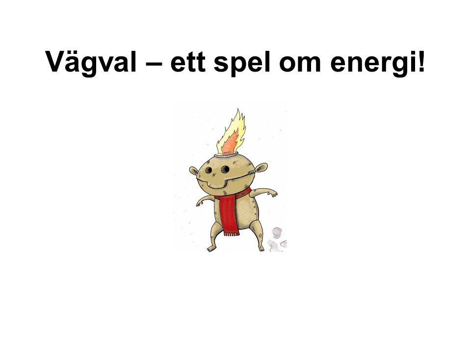 Vägval – ett spel om energi!