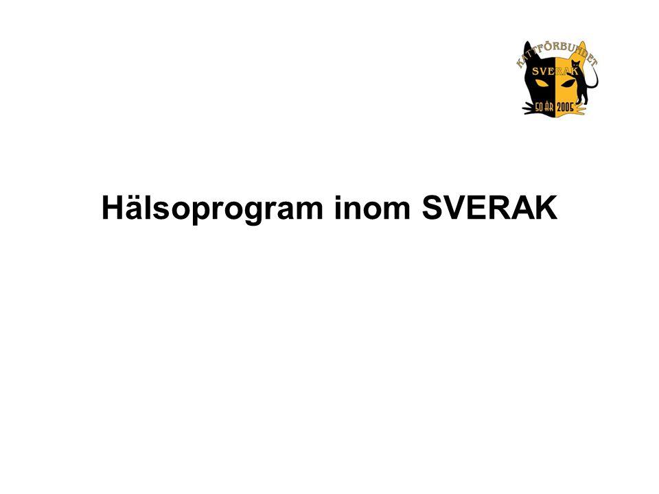 Hälsoprogram inom SVERAK