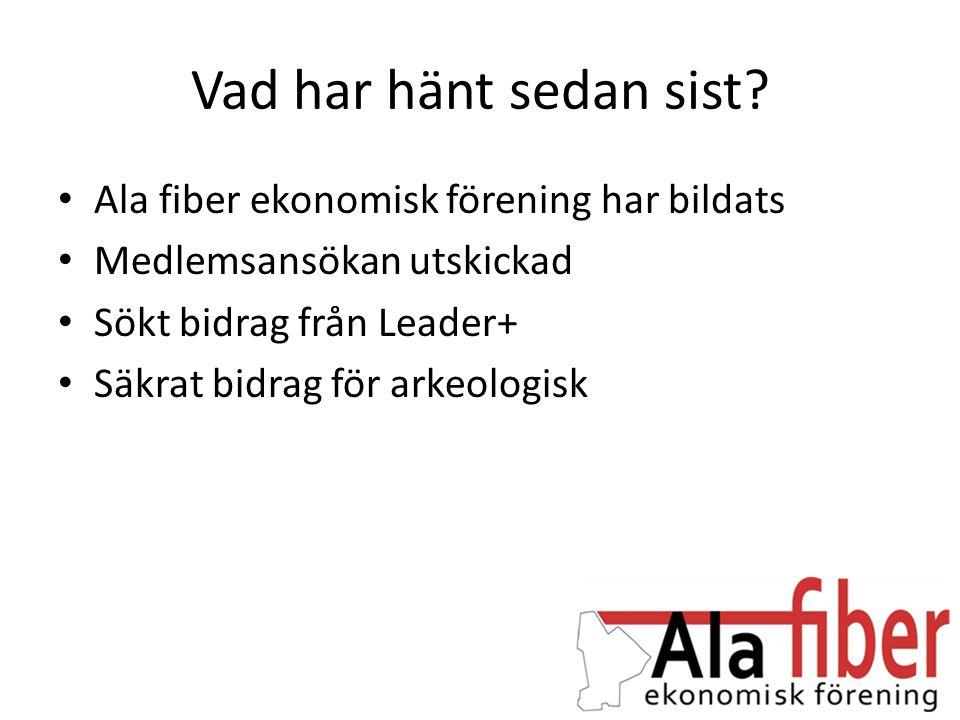 Möjliga bidrag • Leader Gotland.– Några tusen i startbidrag för administration.