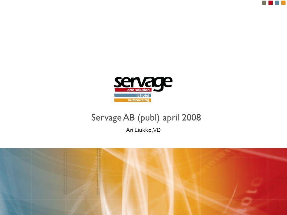 Kundutveckling i Sverige vid introduktionen av Servage.se