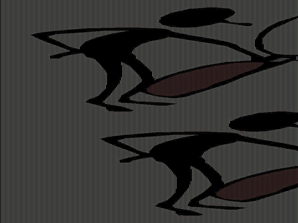 Projektgruppen upptäckte, efter lång tids arbete, att i det japanska teamet paddlade 7 kanotister och 1 gav instruktioner....
