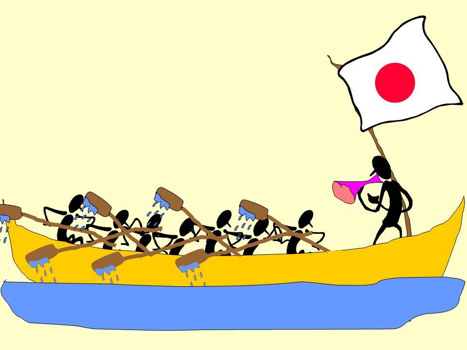 ...medan det i det svenska teamet var 7 kanotister som gav instruktioner och 1 som paddlade.....